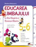 Educarea limbajului cu Rita gargarita si Greierasul albastru 5-6 ani