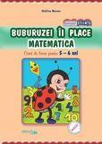 Buburuzei ii place matematica - caiet 5-6 ani