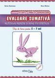 Evaluare sumativa - fise 5-7 ani