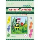 Albinuta curioasa - caiet de lucru 4-5 ani