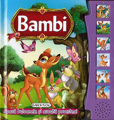 """Bambi - colectia """"citeste si asculta"""""""