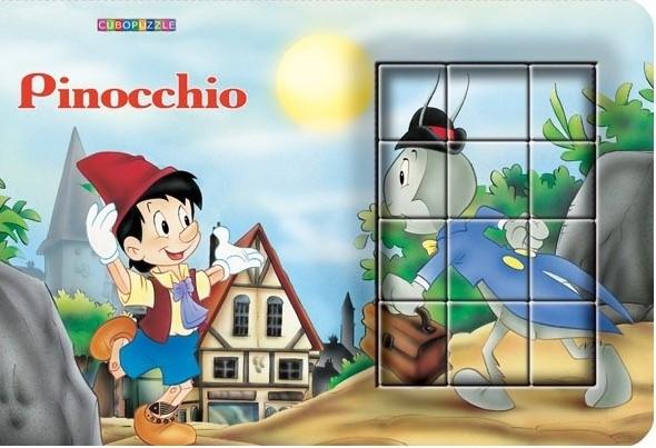 Pinocchio - cuburi