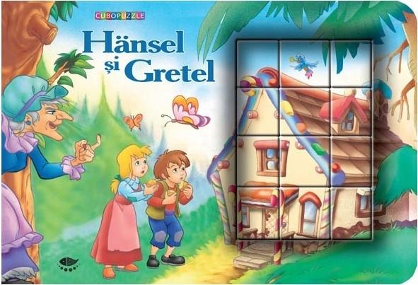 Hansel si Gretel - cuburi