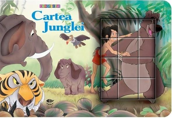 Cartea Junglei - cuburi