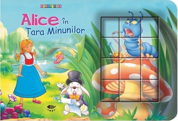 Alice in tara Minunilor - cuburi