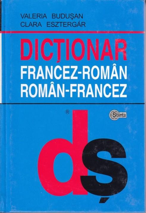 DICTIONAR FRANCEZ-ROMAN, ROMAN-FRANCEZ (cartonat)