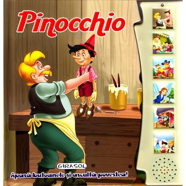Pinocchio - apasa si asculta povestea