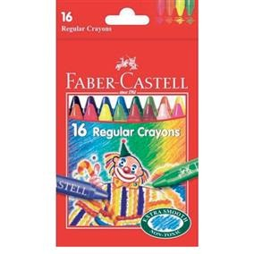 Creioane cerate clown Faber-Castell