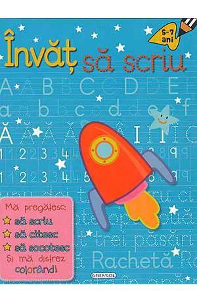 Invat sa scriu 5-7 ani