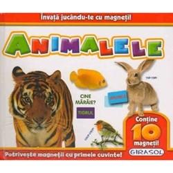 Invata Jucandu-te cu Magneti Animalele