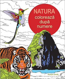 Coloreaza dupa numere - Natura