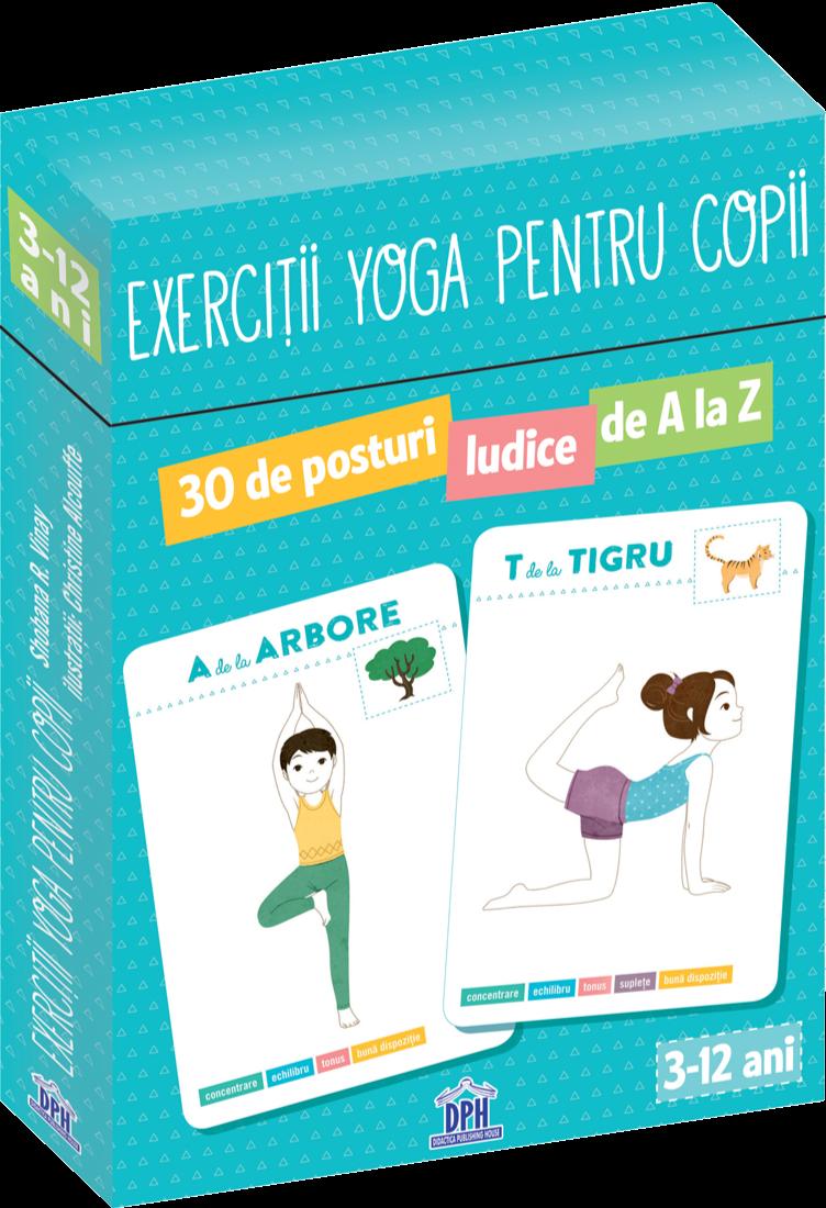 Exercitii Yoga pentru copii