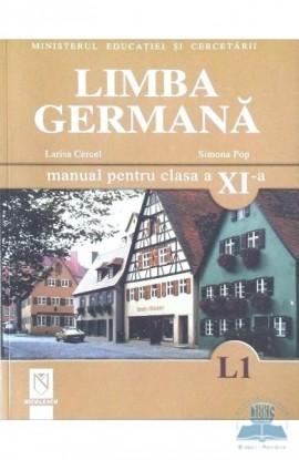 Limba germană (L1). Manual pentru clasa a XI-a